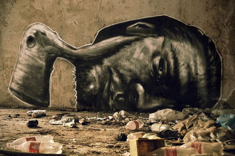 Artwork  in Haifa