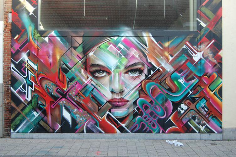 Œuvre  à Anvers