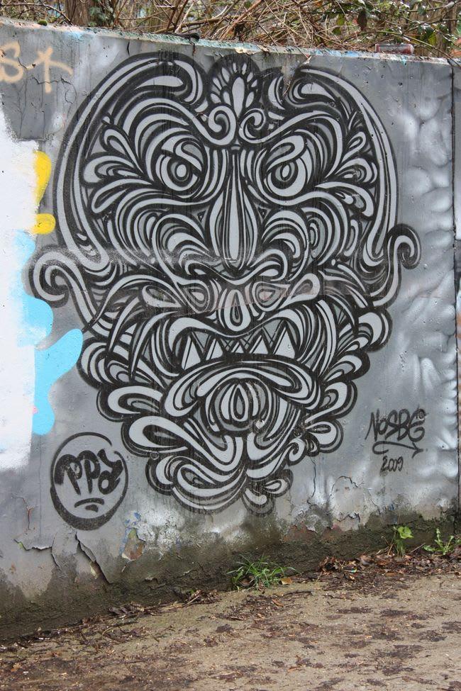 Artwork By Nosbe in Palaiseau