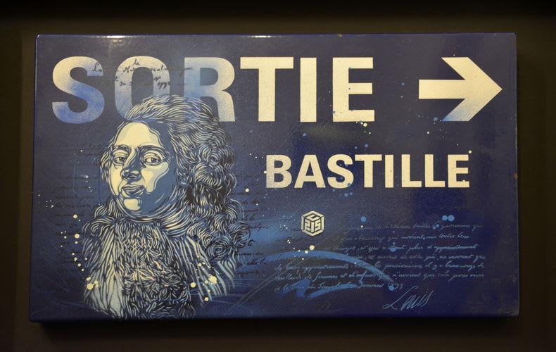 Artwork By C215 in Paris