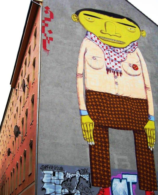 Œuvre Par Os Gemeos à Berlin