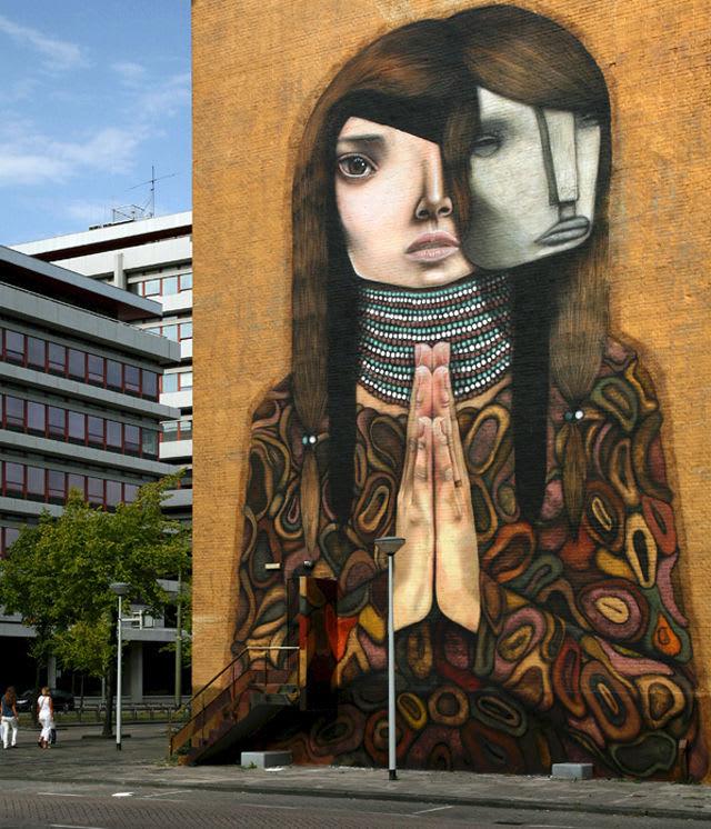 Artwork  in Rotterdam