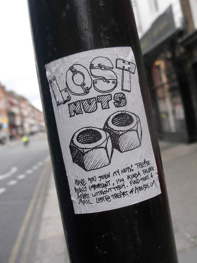 Œuvre Par Asbestos à Dublin