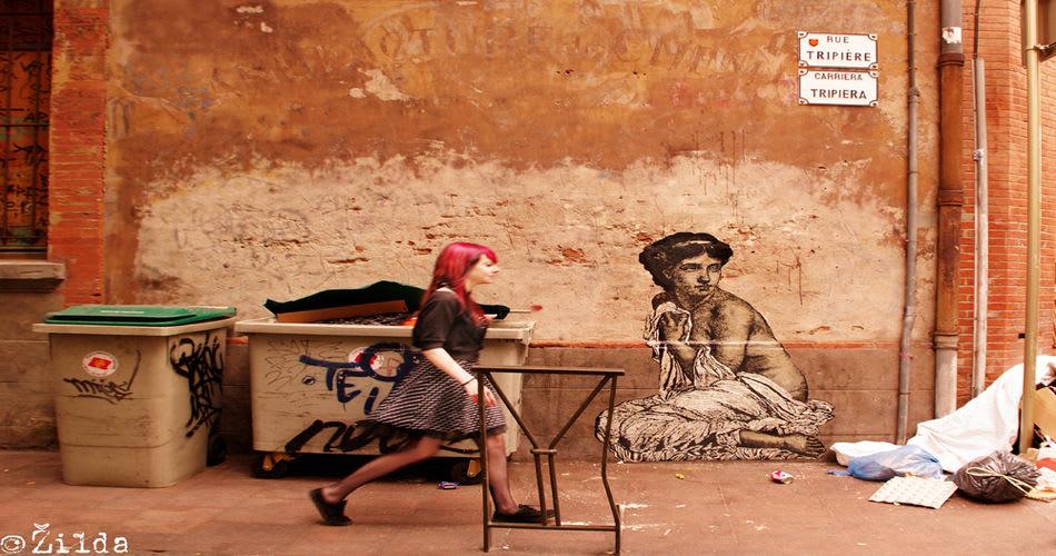 Œuvre Par Zilda à Toulouse