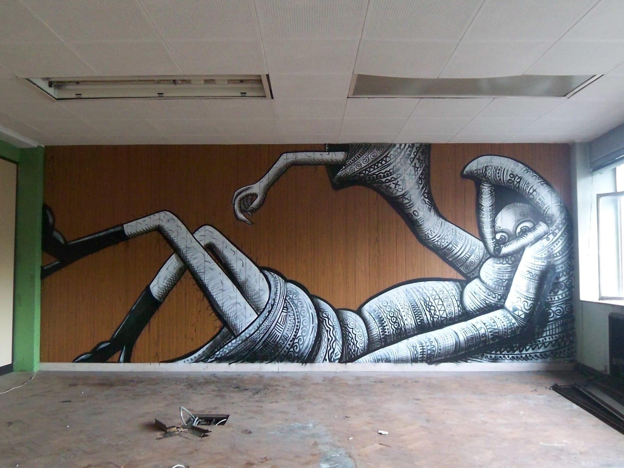 Artwork By Phlegm in Sheffield