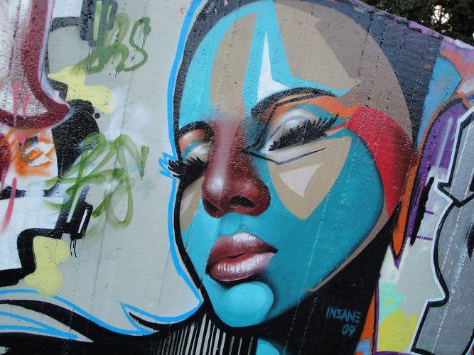 Œuvre Par Insane51 à Skala Oropou