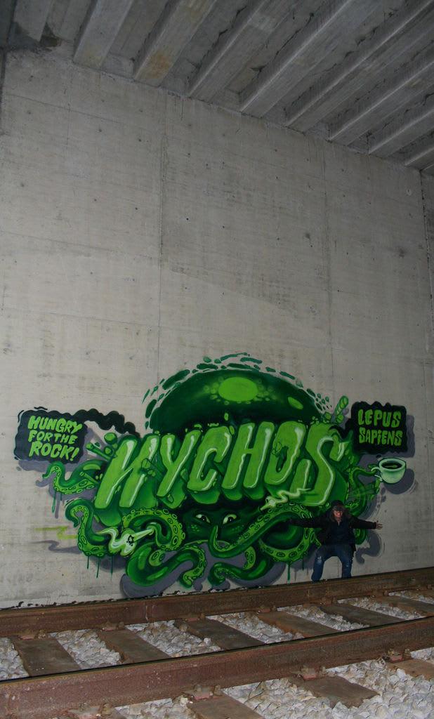 Œuvre Par Nychos à Innere Stadt, Vienne