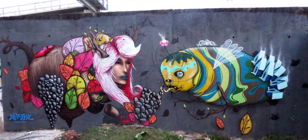 Œuvre Par feik à Rio de Janeiro