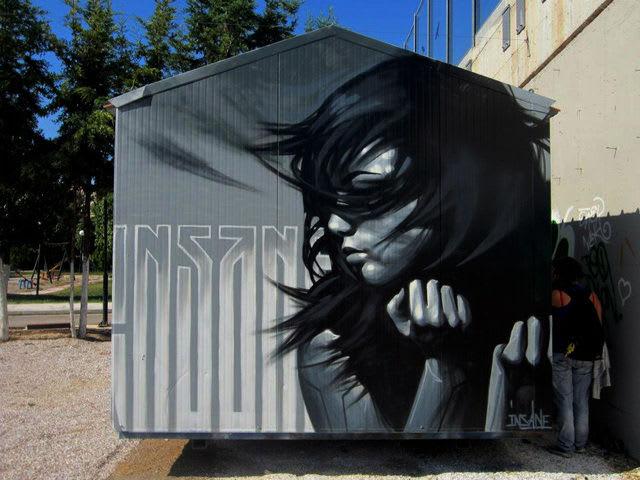 Œuvre Par Insane51 à Athènes
