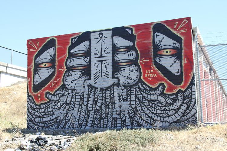 Œuvre Par gats à Oakland
