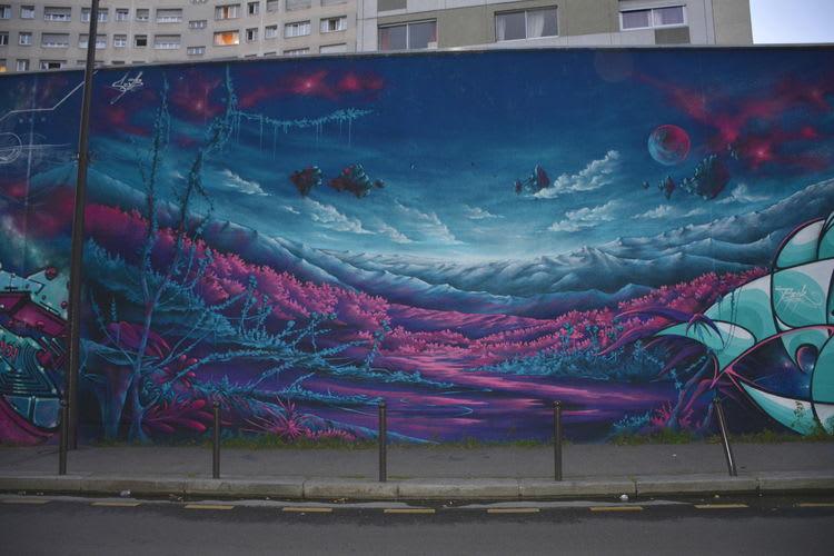 Artwork By Seyb in Paris