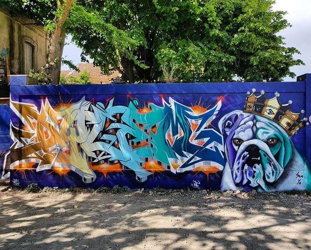 Œuvre Par See Ya à La Rochelle