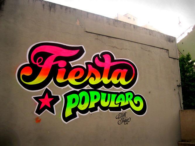 Œuvre Par Elliot Tupac à Buenos Aires District