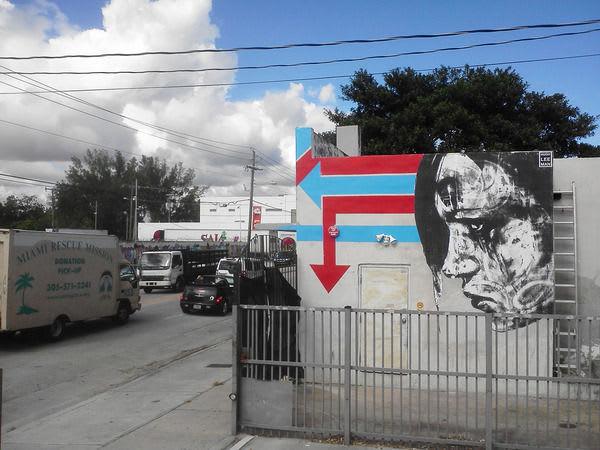 Œuvre Par Hugh Leeman à Miami