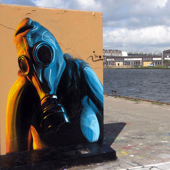 Œuvre  à Amsterdam