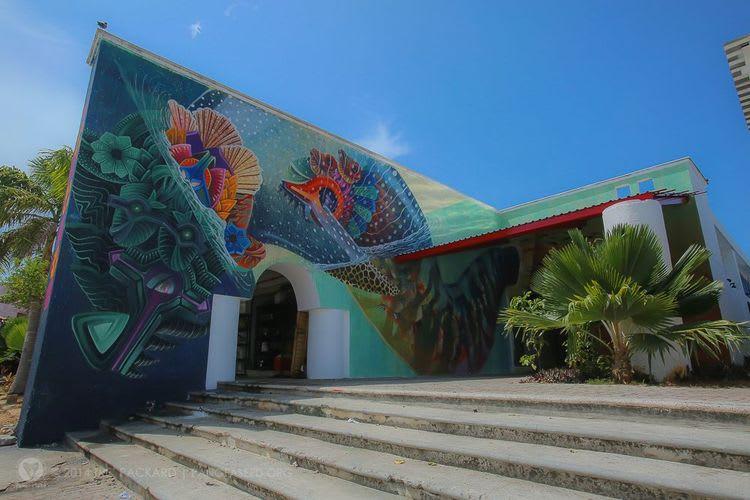 Œuvre Par El Curiot à Mexico