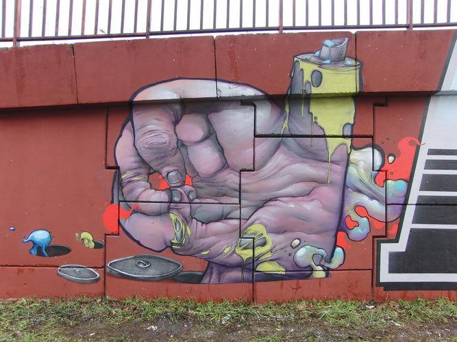 Artwork By Bom.K in Palaiseau