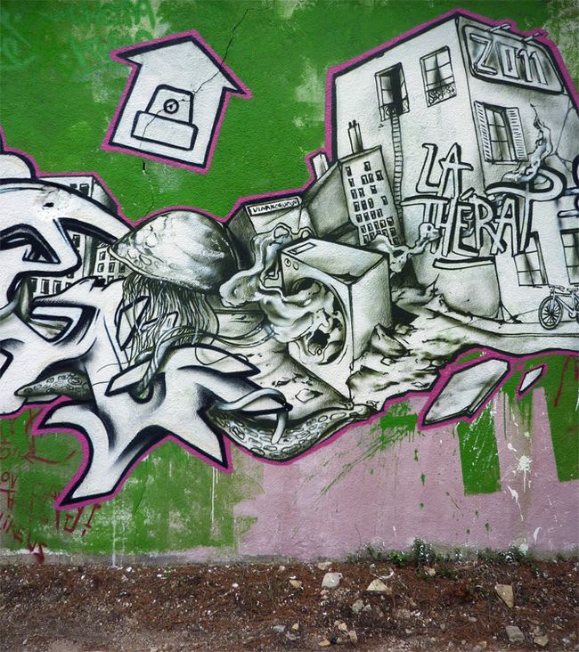 Artwork By John Kviar in Aix-en-Provence