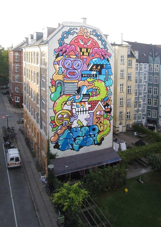 Artwork By GR170 in Copenhagen