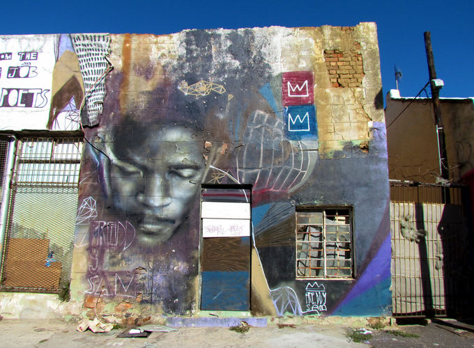 Artwork  in Cape Town