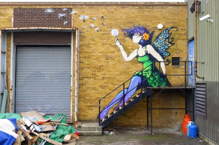 Artwork By Irony in London