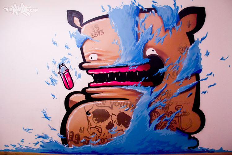 Artwork By KIWIE in Riga