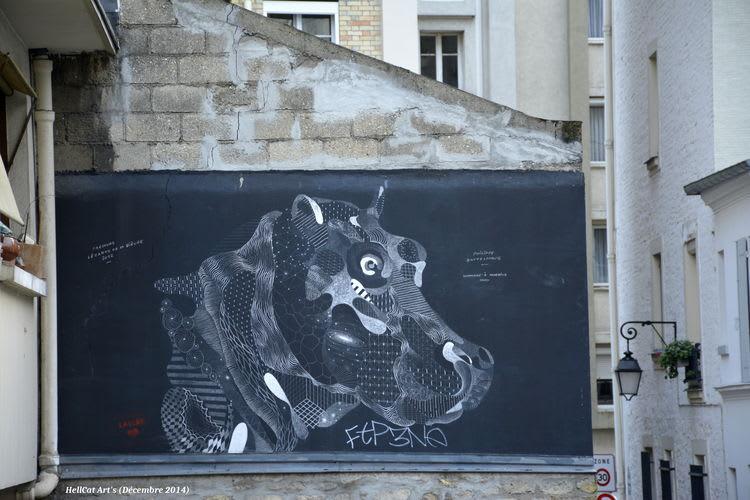 Artwork By Philippe Baudelocque in Paris