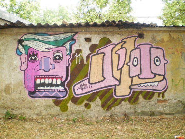 Artwork  in Skopje
