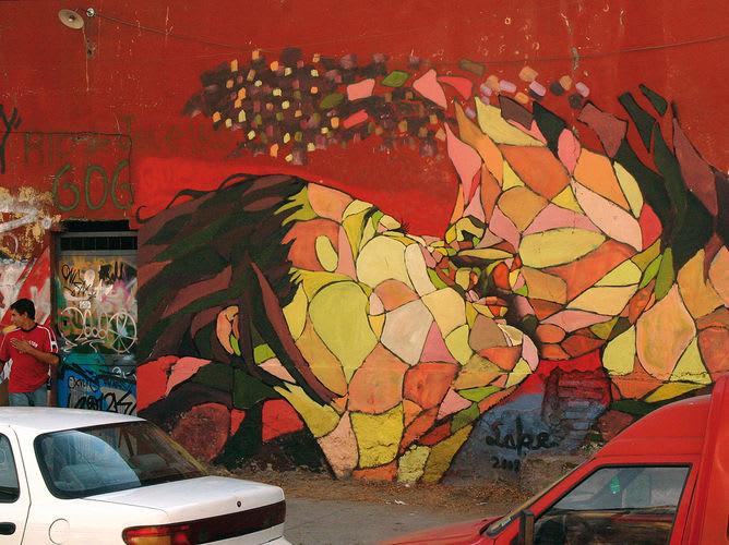Œuvre  à Santiago