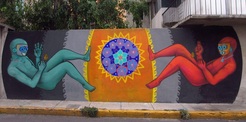 Œuvre Par Lelotzin à Mexico