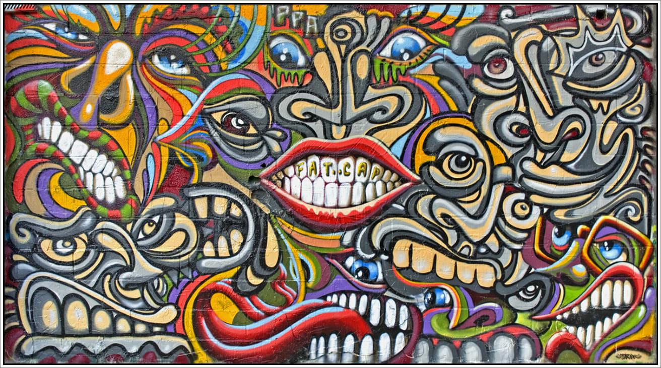 Artwork By Shaka, Nosbe in Palaiseau
