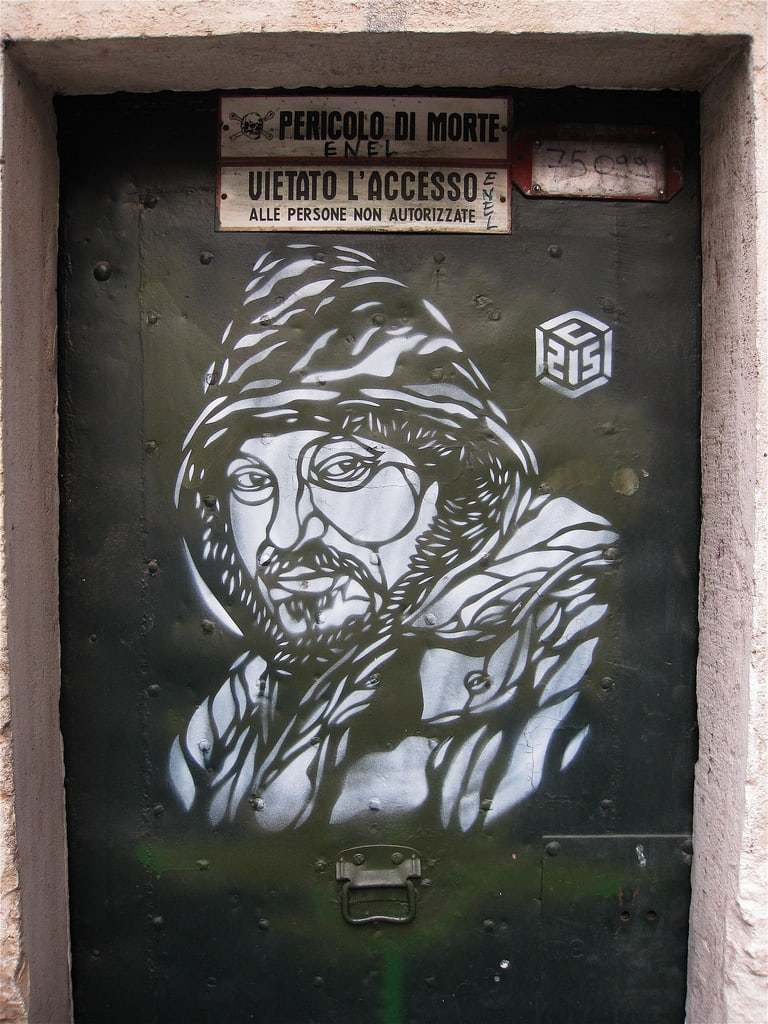 Œuvre Par C215 à Rome