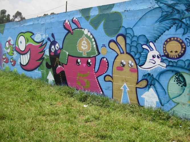 Œuvre Par Pez à Bogota