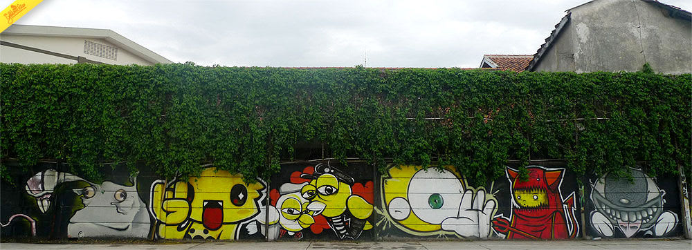 Œuvre Par The Yellow Dino à Bandung