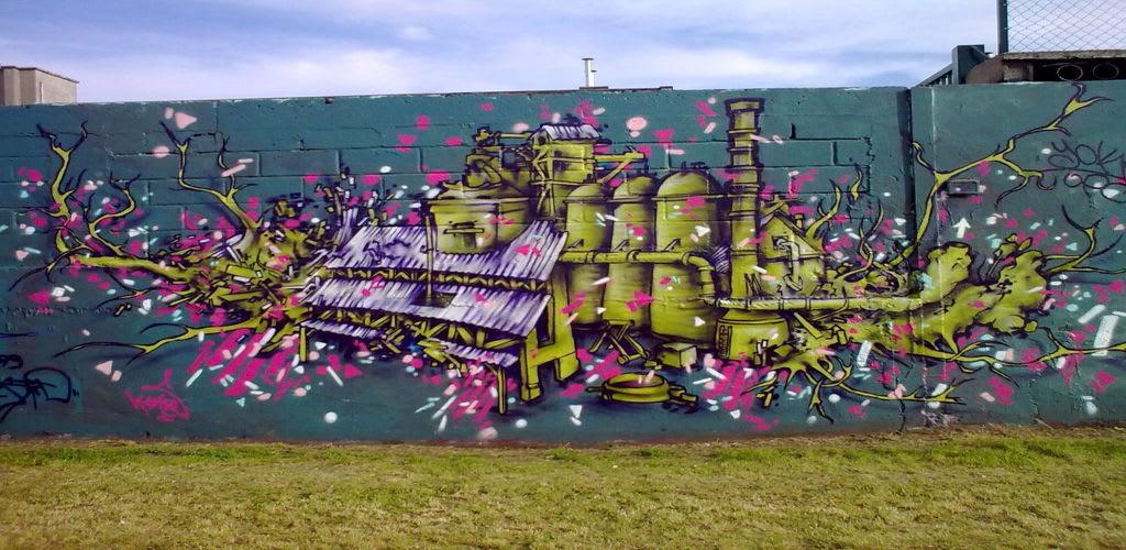 Artwork By KANOS in Bobigny
