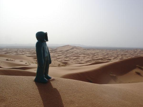 Artwork  in Ouarzazate