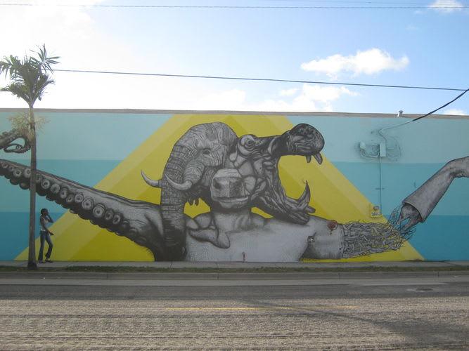 Œuvre Par Juan Fernandez à Miami