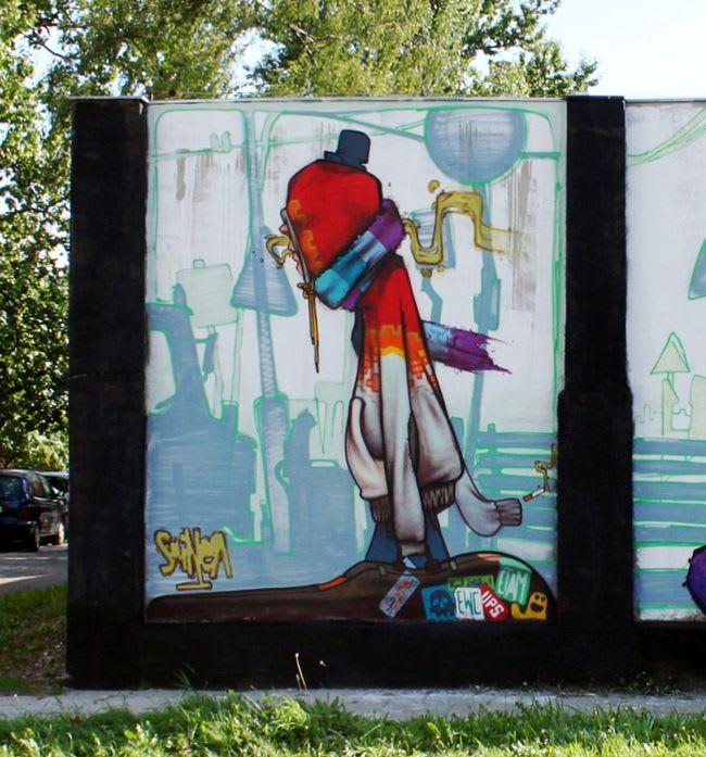 Artwork  in Łódź