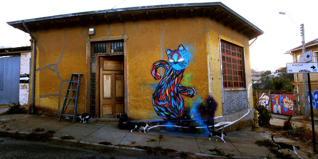 Œuvre Par deLaraíz1 à Valparaíso