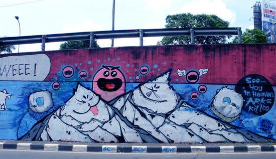 Œuvre Par NC (THEPICKWICK) à Djakarta centre, Jakarta