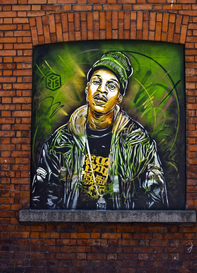 Artwork By C215 in Dublin