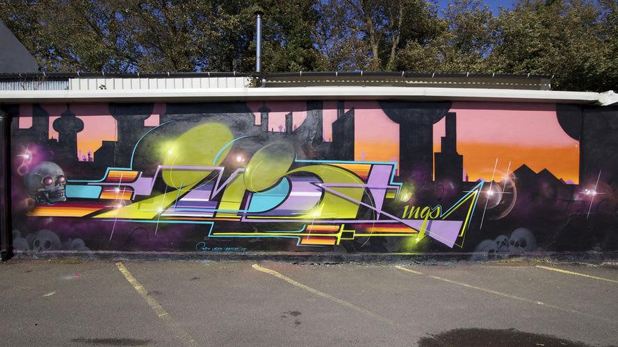 Œuvre Par Gary à Brighton