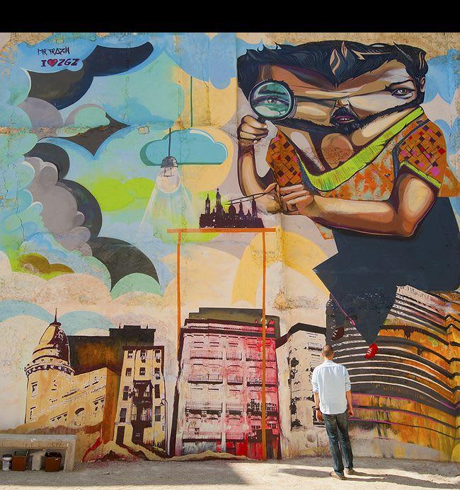 Œuvre Par Mr. Trazo à Cuenca