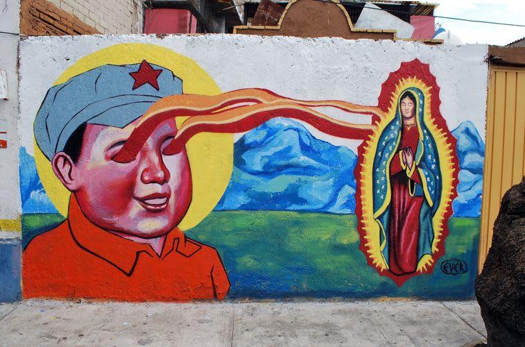 Artwork  in Mexico City