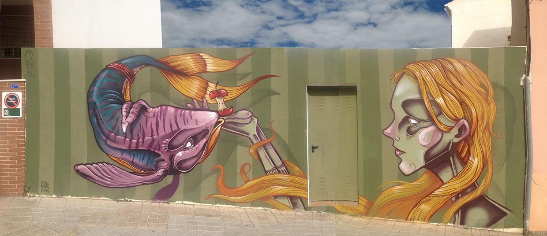 Artwork By Malakkai in Almería