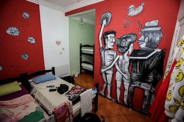 Œuvre Par Nhobi à Rio de Janeiro