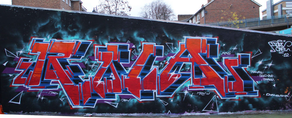 Œuvre  à Londres