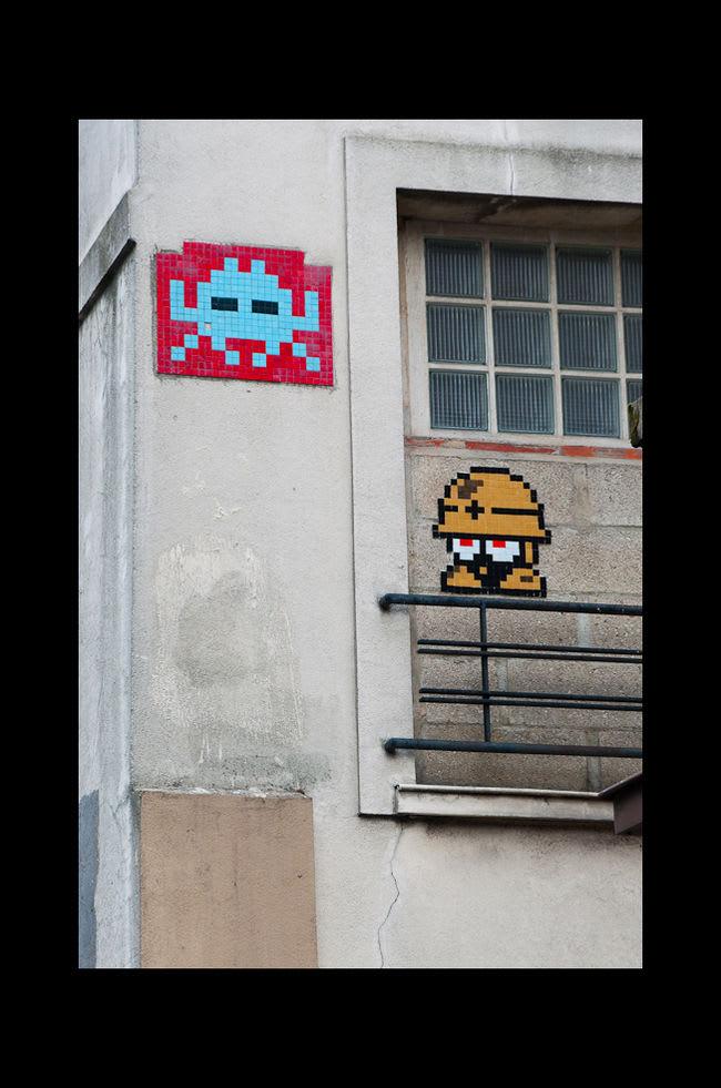 Œuvre Par Space Invaders à Paris