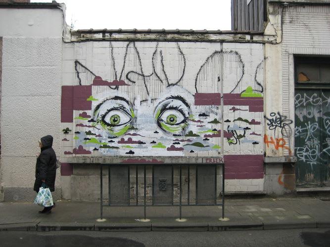 Œuvre Par ERICK à Bruxelles