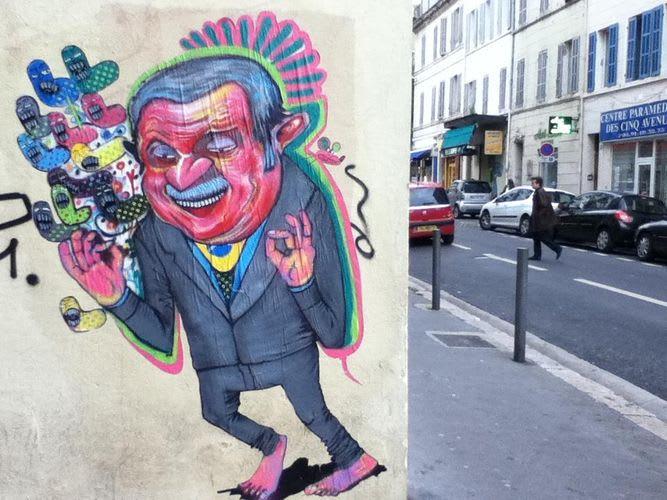 Œuvre Par Nhobi à Marseille